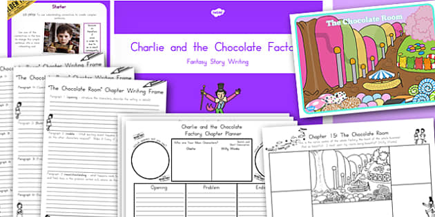 Story Writing Lesson Teaching Pack to Support Teaching on Charlie and the Chocolate Factory
