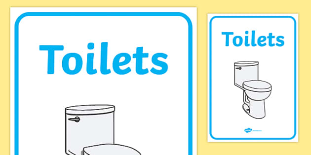 Toilets Area Sign - sign, display sign, area display sign, area sign, toilets display poster, toilets display sign, toilet area, area, classroom areas, school areas, classroom area signs, topic signs, topic area signs