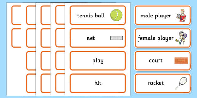 Roland-Garros Word Cards - roland-garros, french opens, stadium, word cards