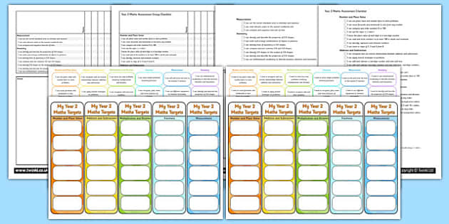 Year 2 Maths Assessment Pack - math, numeracy, assessment, assess