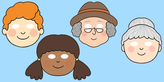 The Enormous Turnip Role Play Masks -  Enormous Turnip, role play masks, role play, Traditional tales, tale, fairy tale, little old man, little old woman, seed, cat, dog, mouse, pull, turnip, working together