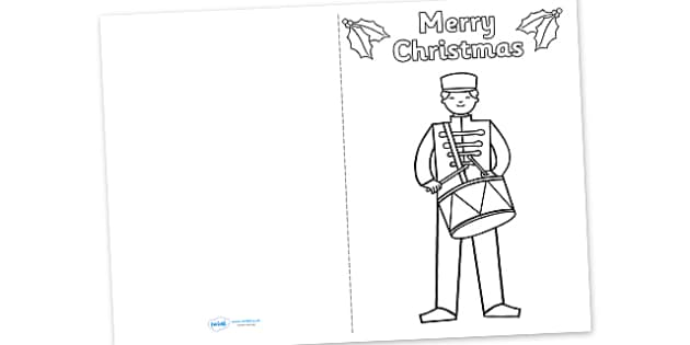 Christmas Toy Soldiers Card Templates - christmas, toys, cards