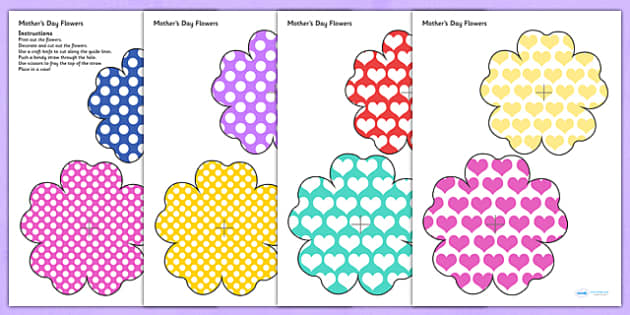 Australia Mother's Day Cut-out Flowers