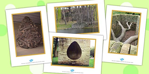 Andy Goldsworthy Display Photos - andy goldsworthy, display photos