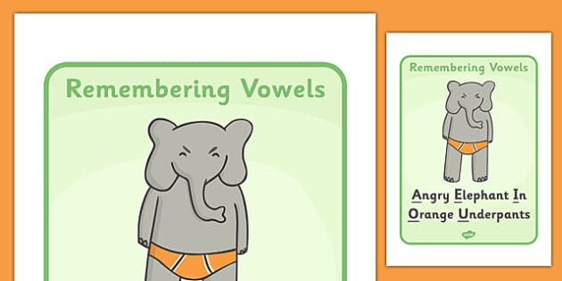 Remembering Vowels Display Posters - vowels, remember, remembering, poster, display, sign, banner