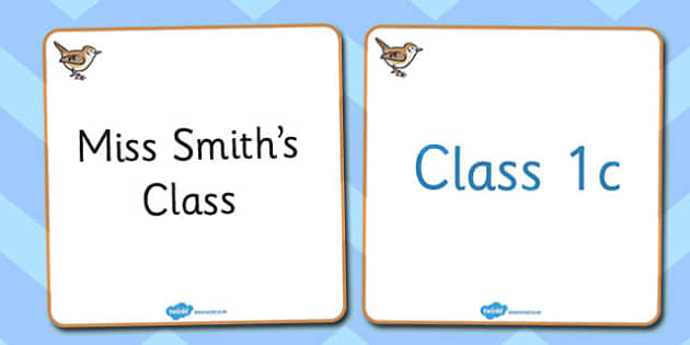Wren Themed Editable Classroom Area Display Sign - Themed Classroom Area Signs, KS1, Banner, Foundation Stage Area Signs, Classroom labels, Area labels, Area Signs, Classroom Areas, Poster, Display, Areas