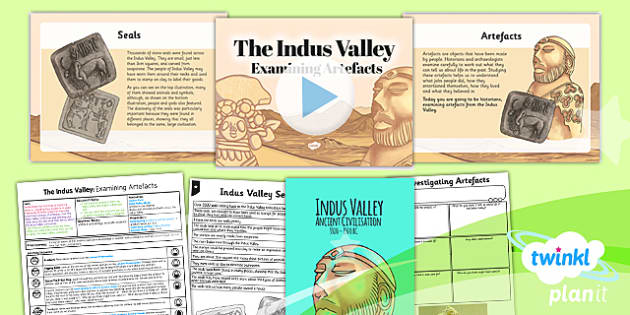 PlanIt History UKS2 Indus Valley Lesson 4 Examining Artefact Pack