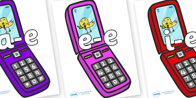 Modifying E Letters on Mobiles - Modifying E, letters, modify, Phase 5, Phase five, alternative spellings for phonemes, DfES letters and Sounds