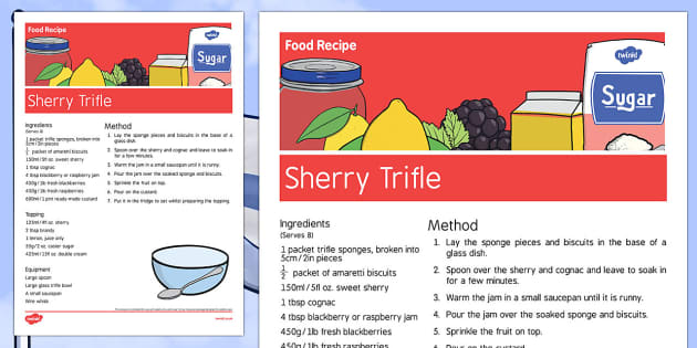 Elderly Care St Georges Day Food Recipe - Elderly, Reminiscence, Care Homes, St. George's Day, Saint George, trifle, adult, education