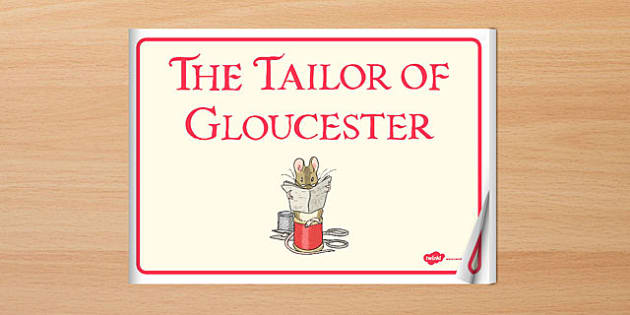 The Tailor of Gloucester eBook - tailor, gloucester, ebook, story