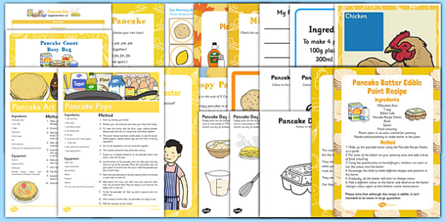 Childminder Pancake Day Resource Pack - Shrove Tuesday, childminder, pancake day