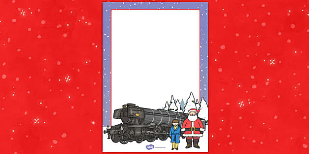 Christmas Train Journey Editable Posters - christmas, train, journey, editable, posters, display