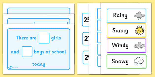Daily Calendar Story - calendar story, school, primary, Days of the Week, calendar, days, date display