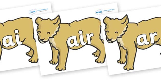 Phase 3 Phonemes on Puppy - Phonemes, phoneme, Phase 3, Phase three, Foundation, Literacy, Letters and Sounds, DfES, display