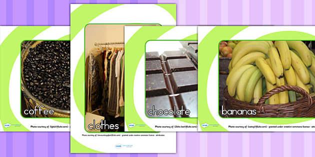 Fairtrade Display Photos - fair trade, fairtrade display, food