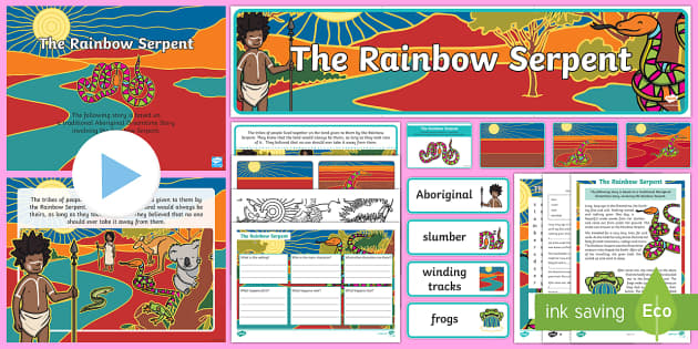 The Rainbow Serpent Activity Pack