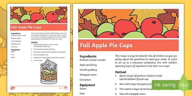 Fall Apple Pie Cups Recipe
