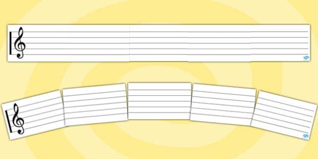 Stave Display Banner - stave, display banner, music, writing, composing