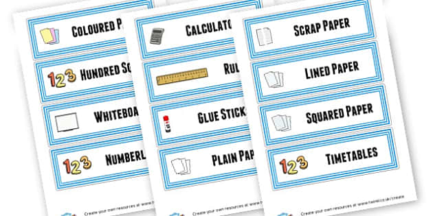 Eagles Draws - Classroom Signs & Label Primary Resources, labels, posters, rules