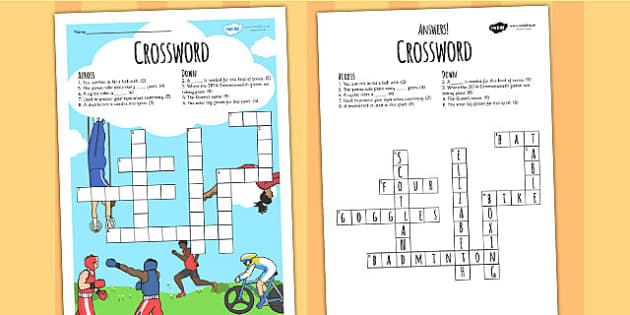 The Commonwealth Games Crossword - crossword, commonwealth