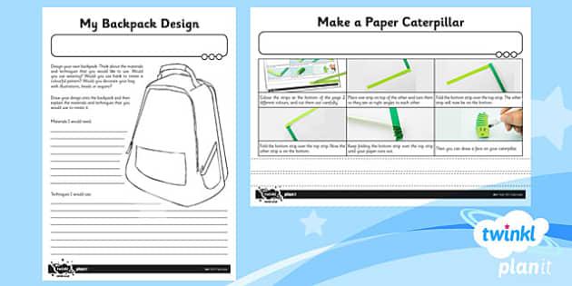 PlanIt - Art KS1 - Fabricate Home Learning Tasks - planit, art