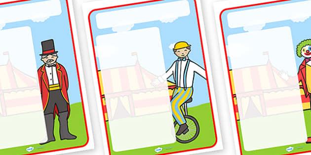 Circus Themed Target Posters - circus, circus themed, target posters, targets, class targets, themed targets, class management, posters, circus posters