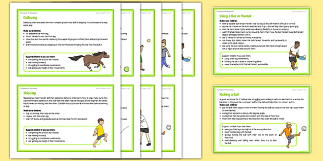 Foundation PE (Reception) – Games - Best of Balls Teacher Support Cards Pack - EYFS, PE, Physical Development, Planning
