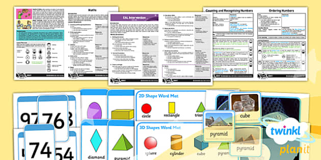 PlanIt EAL Intervention Basic Skills Maths Pack - planit, eal, maths