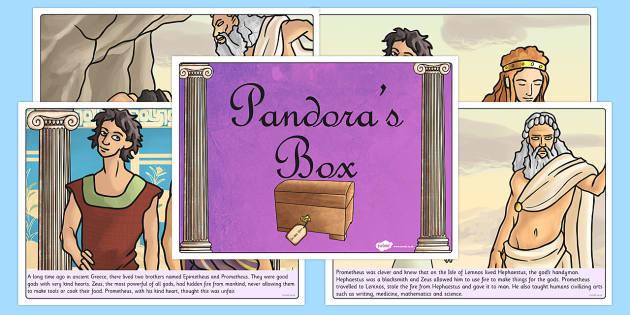 Pandora's Box Ancient Greek Myth Story - greek mythology, greece