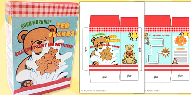 Roleplay Supermarket Cereal Box - shops, role play, props, shop