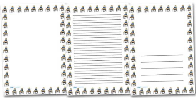 Work Sheet Portrait Page Borders- Portrait Page Borders - Page border, border, writing template, writing aid, writing frame, a4 border, template, templates, landscape