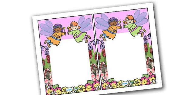 Editable Note From Teacher (Fairy Themed) - editable note from teacher, fairy themed, note from teacher, notes, note, comment, parent, teacher's, editable, fairy
