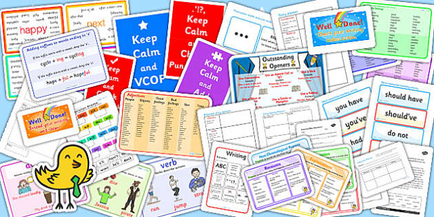 Literacy Writing First Aid Kit Resource Pack for KS2 - literacy
