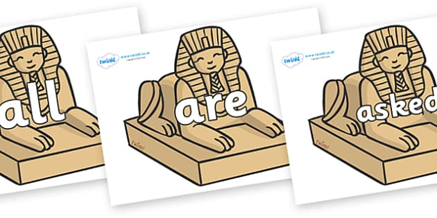 Tricky Words on Sphinx - Tricky words, DfES Letters and Sounds, Letters and sounds, display, words