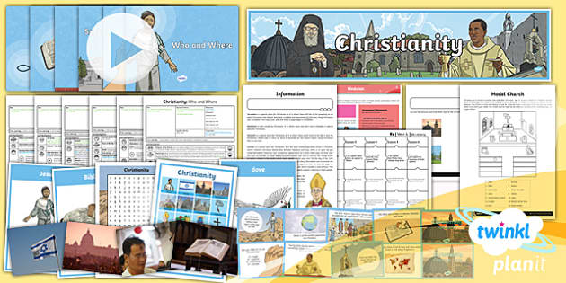 PlanIt - RE Year 4  - Christianity Unit Pack