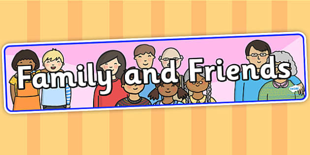 Family and Friends IPC Display Banner - family and friends, IPC display banner, IPC, family and friends display banner, IPC display