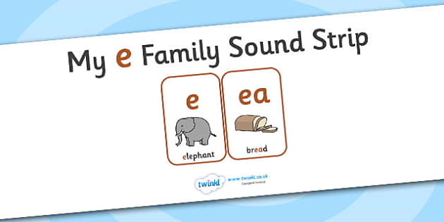 My e Family Sound Strip - family sound strip, sound strip, my family sound strip, my e sound strip, e sound strip, e family sound strip