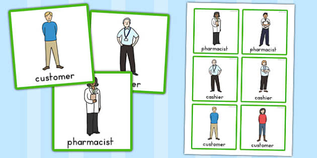 Pharmacy Role Play Badges - badge, stickers, labels, medicine
