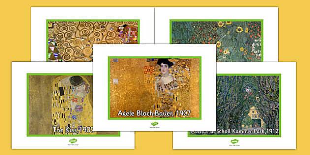 Gustav Klimt Photo Pack - gustav klimt, photo pack, photo, pack