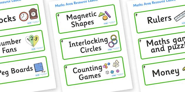 Chestnut Tree Themed Editable Maths Area Resource Labels - Themed maths resource labels, maths area resources, Label template, Resource Label, Name Labels, Editable Labels, Drawer Labels, KS1 Labels, Foundation Labels, Foundation Stage Labels, Teachi