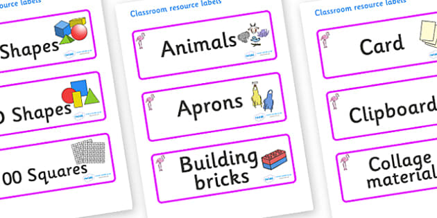 Flamingo Themed Editable Classroom Resource Labels - Themed Label template, Resource Label, Name Labels, Editable Labels, Drawer Labels, KS1 Labels, Foundation Labels, Foundation Stage Labels, Teaching Labels, Resource Labels, Tray Labels, Printable
