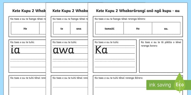 Spelling Lists Kete Kupu 2 Sentence Unscramble Te Reo Māori - maori, kete kupu, sight words sentence, sentence unscramble