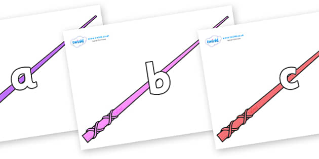 Phase 2 Phonemes on Wands - Phonemes, phoneme, Phase 2, Phase two, Foundation, Literacy, Letters and Sounds, DfES, display
