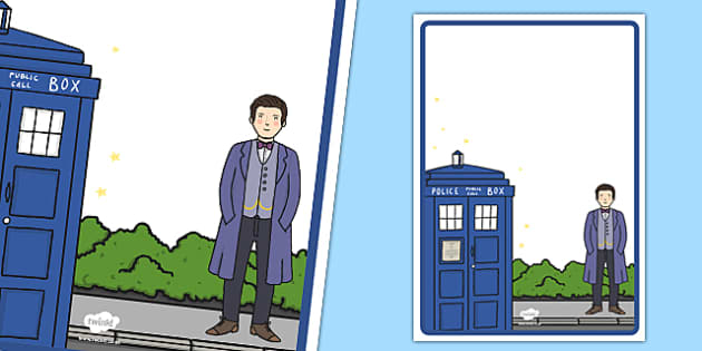 Space Time Traveller Themed Editable Poster - space, time traveller, doctor who, tardis, police box, sonic screwdriver, doctor, themed, editable, poster, display