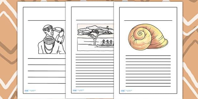 Kingdom of Benin: Bini Creation Story Writing Frames
