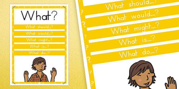 What? Question Poster - australia, question, poster, display, what