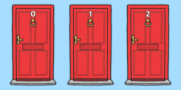 Numbers 0-20 on Doors - Door, numbers, letterbox, post, Postal Worker, letter, parcel