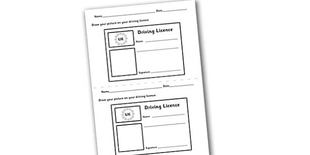 Driving Licence Template - role-play, roleplay, role play, driving lisence roleplay, driving licence role play, driving role play, pretend driving licence, role play driving licence, driving, how to drive, acting, role play, roleplay, roleplaying, ac