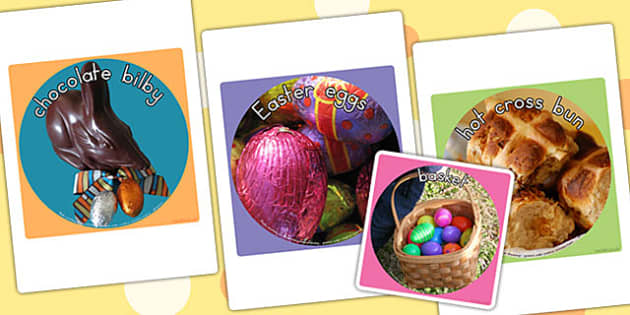 Easter Display Photos Cut Out - easter, easter display, cutouts