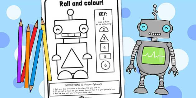 Shape Rolling Worksheet - australia, shape, rolling, worksheet